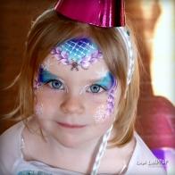 Blue eyed Birthday Elsa