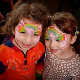 Rainbow twins