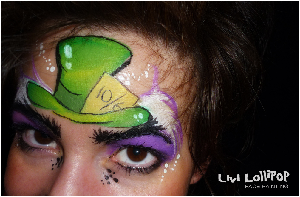 Mad Hatter Face Painting Leicester To London