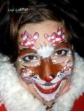 Candy cane Rudolf