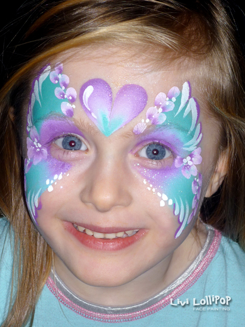 Princess Face Painting Leicester To London