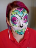 Sugar skull completed