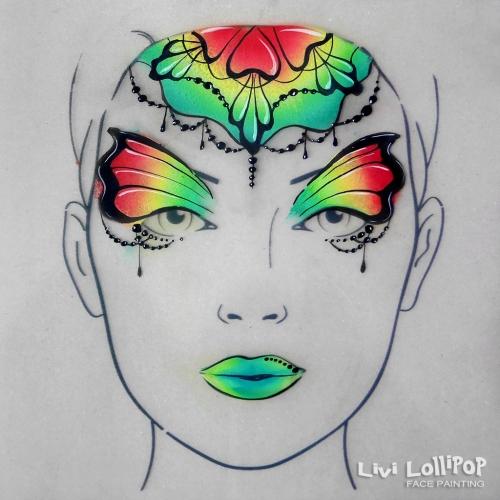 insta rainbow mandala