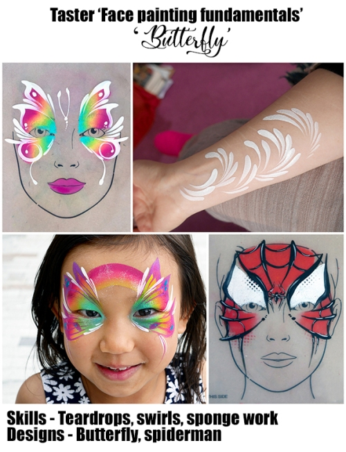 face painting lesson 1 no price