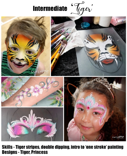 face painting lesson 2 no price