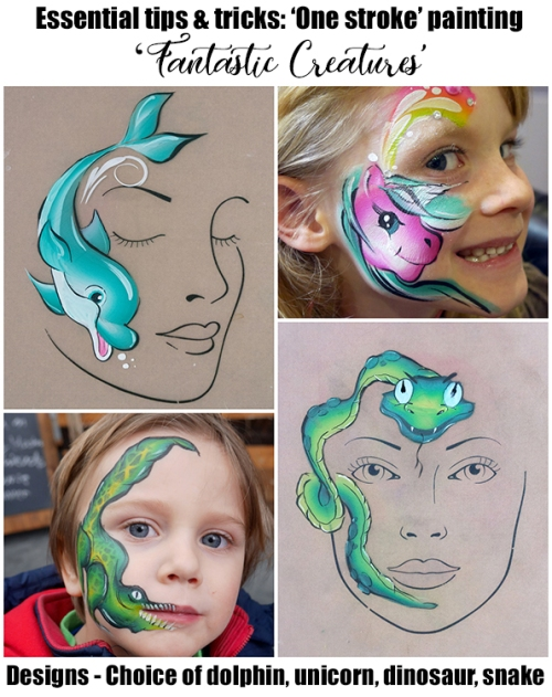 face painting lesson 4 no price