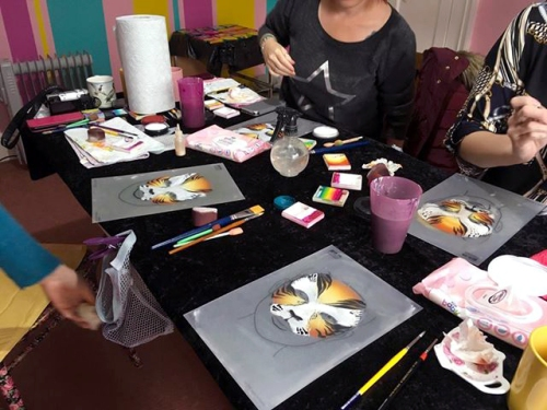 Face Painting workshop - Leicester